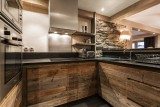 Val d'Isère Luxury Rental Apartment Vadakite Kitchen