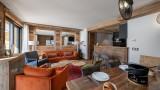 Val d'Isère Location Appartement Luxe Varmate Salon