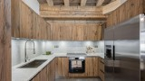 Val d'Isère Location Appartement Luxe Varvate Cuisine