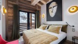 Val d'Isère Location Appartement Luxe Varvite Chambre4