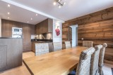 Val d'Isère Luxury Rental Apartment Vaselate Living Area