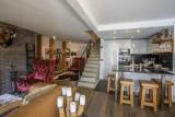 Val d'Isère Luxury Rental Apartment Vasilite Living Area 3