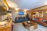 Val d'Isère Luxury Rental Apartment Vatalis Living Area 4