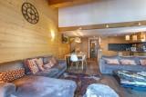 Val d'Isère Location Appartement Luxe Vatelis Séjour 3