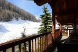 Val d'Isère Luxury Rental Appartment Vatilis Balcony