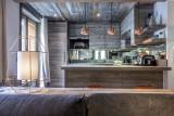 Val d'Isère Luxury Rental Appartment Vatilis Kitchen