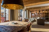 Val d'Isère Location Appartement Luxe Vatolis Salle A Manger