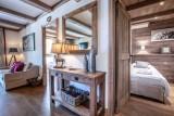 Val d'Isère Location Appartement Luxe Vaulite Séjour