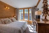 Val d'Isère Location Appartement Luxe Veridine Chambre 2