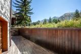Val d'Isère Location Appartement Luxe Veridine Terrasse
