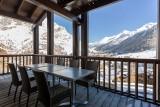 Val d'Isère Luxury Rental Apartment Vesuvin Terrace