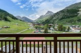 Val d'Isère Location Appartement Luxe Vezuli Balcon