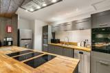 Val d'Isère Location Appartement Luxe Vigiz Cuisine