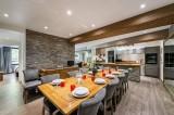 Val d'Isère Luxury Rental Appartment Vigiz Dining Area 2