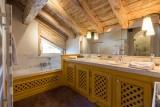 Val d'Isère Location Appartement Luxe Violane Salle De Bain 2