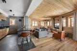 Val d'Isère Location Appartement Luxe Virlite Séjour 2