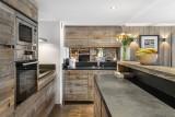 Val d'Isère Luxury Rental Appartment Viteli Kitchen