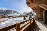 Val D'Isère Location Chalet Luxe Amazonite Terrasse
