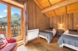 Val d'Isère Luxury Rental Chalet Jaden Bedroom 4