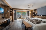 Val d'Isère Location Chalet Luxe Tellanche Chambre