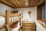 Val D'Isère Luxury Rental Chalet Umbate Children's Room