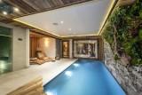 Val D'Isère Luxury Rental Chalet Umbate Pool