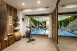 Val D'Isère Luxury Rental Chalet Umbate Fitness Room
