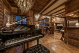 Val d'Isère Location Chalet Luxe Unakite Piano