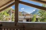 Val d'Isère Luxury Rental Chalet Vabodia Balcony