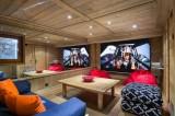 Val d'Isère Luxury Rental Chalet Vabodia Cinema Room
