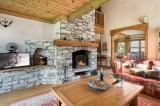 Val d'Isère Luxury Rental Chalet Vabodia Living Area