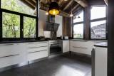 Val d'Isère Luxury Rental Chalet Vasel Kitchen