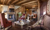 Val Thorens Rental Appartment Luxury Volcanite Living Room