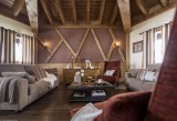 Val Thorens Location Appartement Luxe Volfsinite Salon
