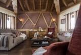 Val Thorens Location Appartement Luxe Voltaite Salon