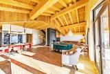 Val Thorens Luxury Rental Chalet Olidan Living Area