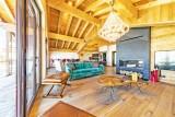 Val Thorens Luxury Rental Chalet Olidan Living Area 3
