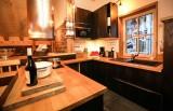 Valloire Luxury Rental Chalet Buglose Kitchen