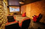 Valloire Luxury Rental Chalet Buglose Cinema Room 2