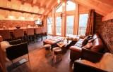 Valloire Luxury Rental Chalet Buglose Living Room