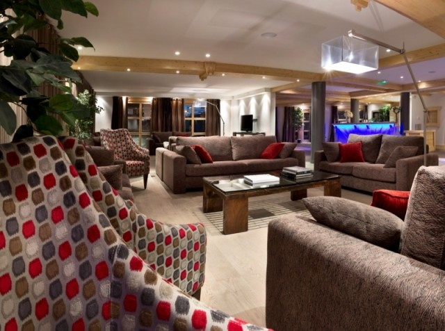 Alpe d'Huez  Location Appartement Luxe Acroita Duplex Réception