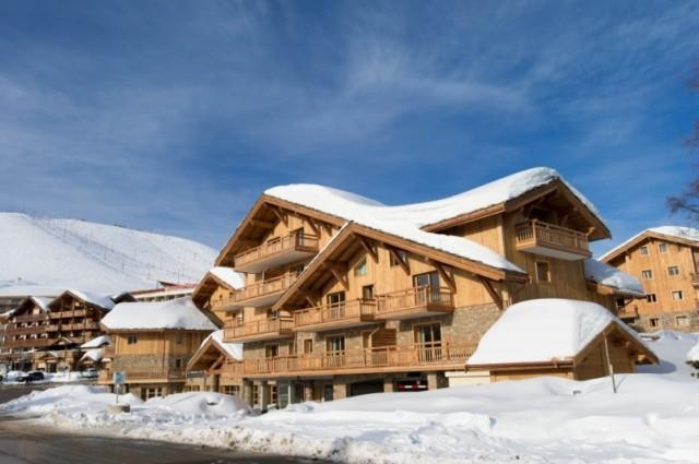 Alpe d'Huez  Location Appartement Luxe Acroite Duplex Extérieur