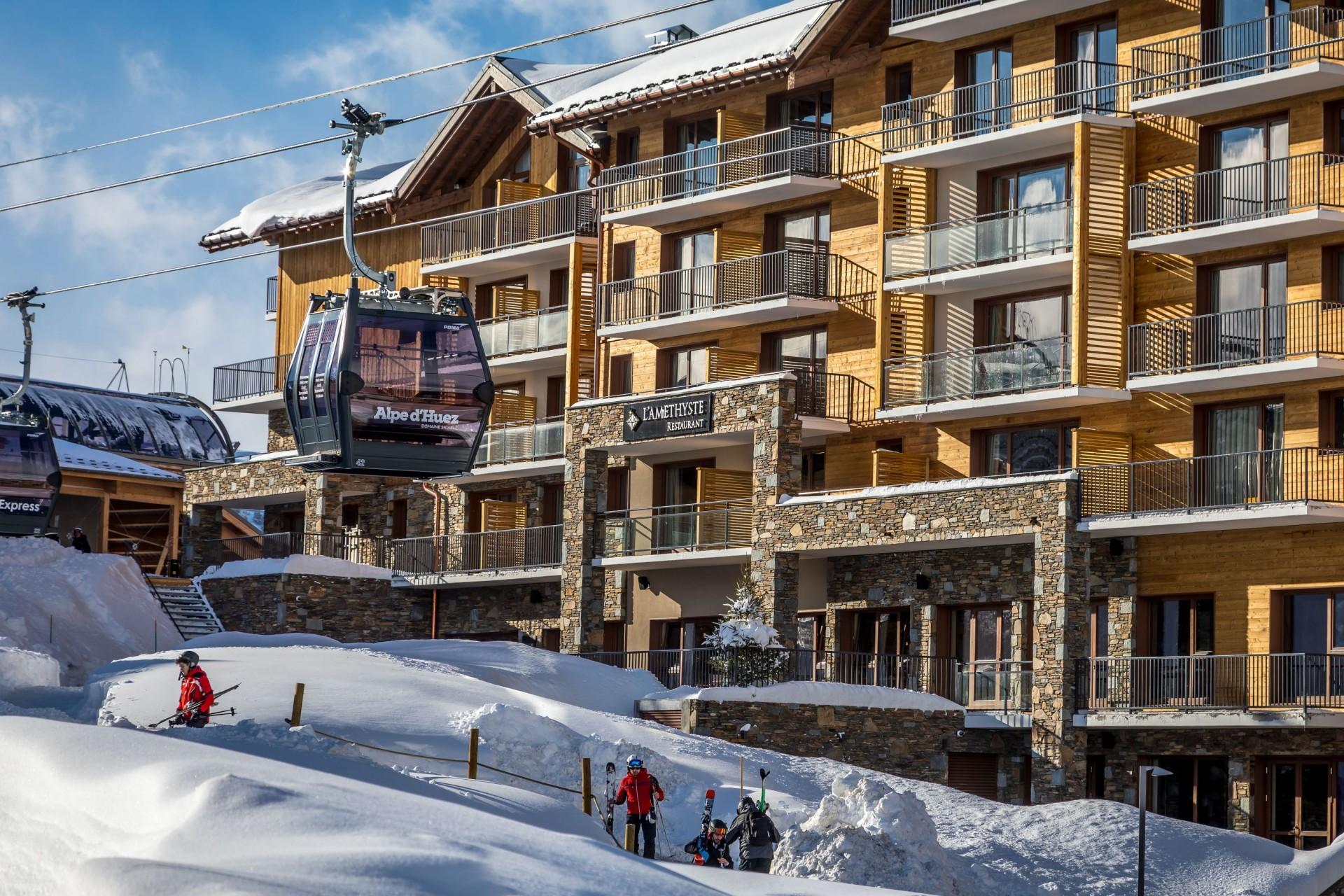 Alpe D'Huez Location Appartement Luxe Amari Extérieur