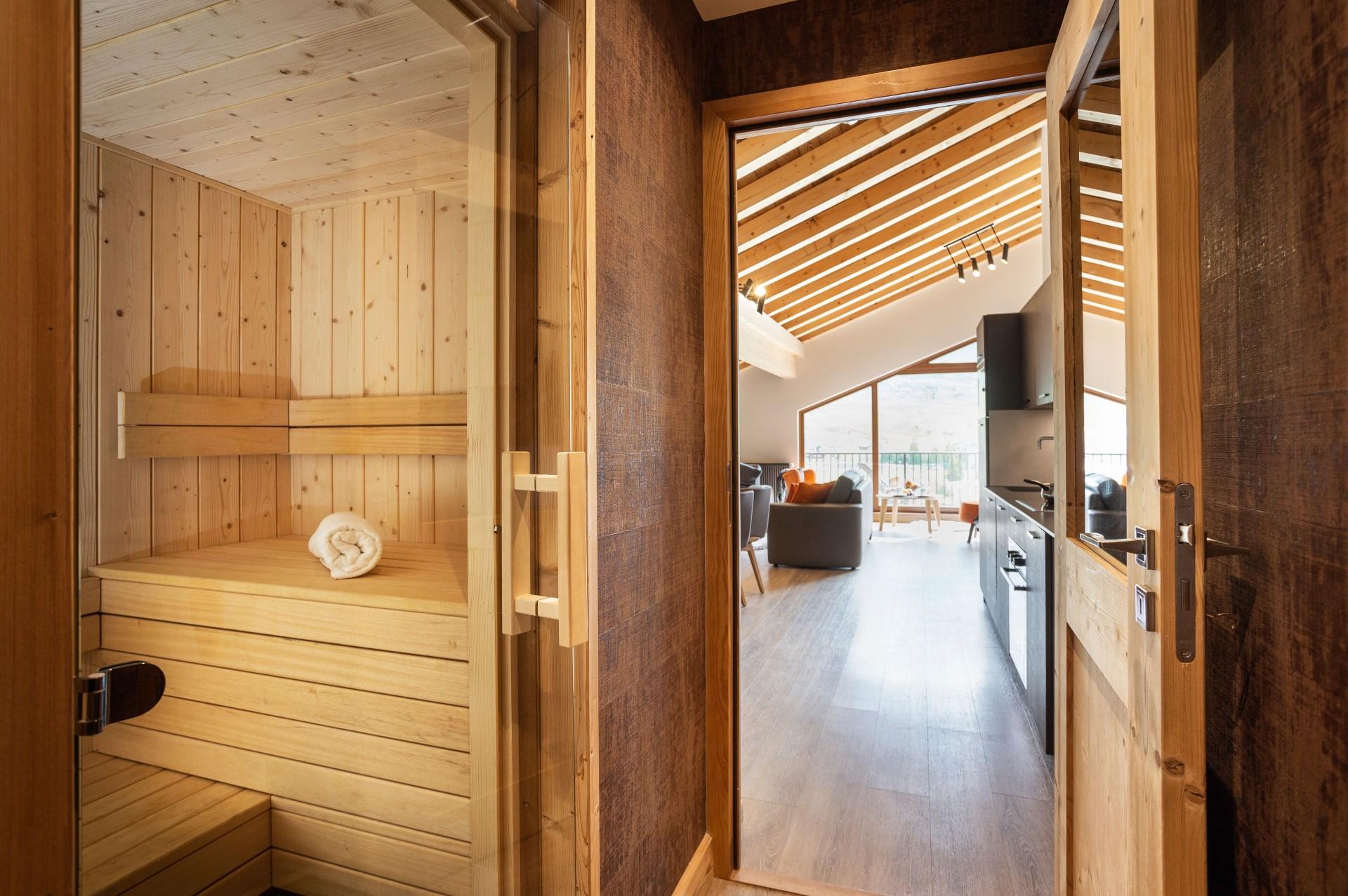 Alpe D'Huez Location Appartement Luxe Amarite Sauna