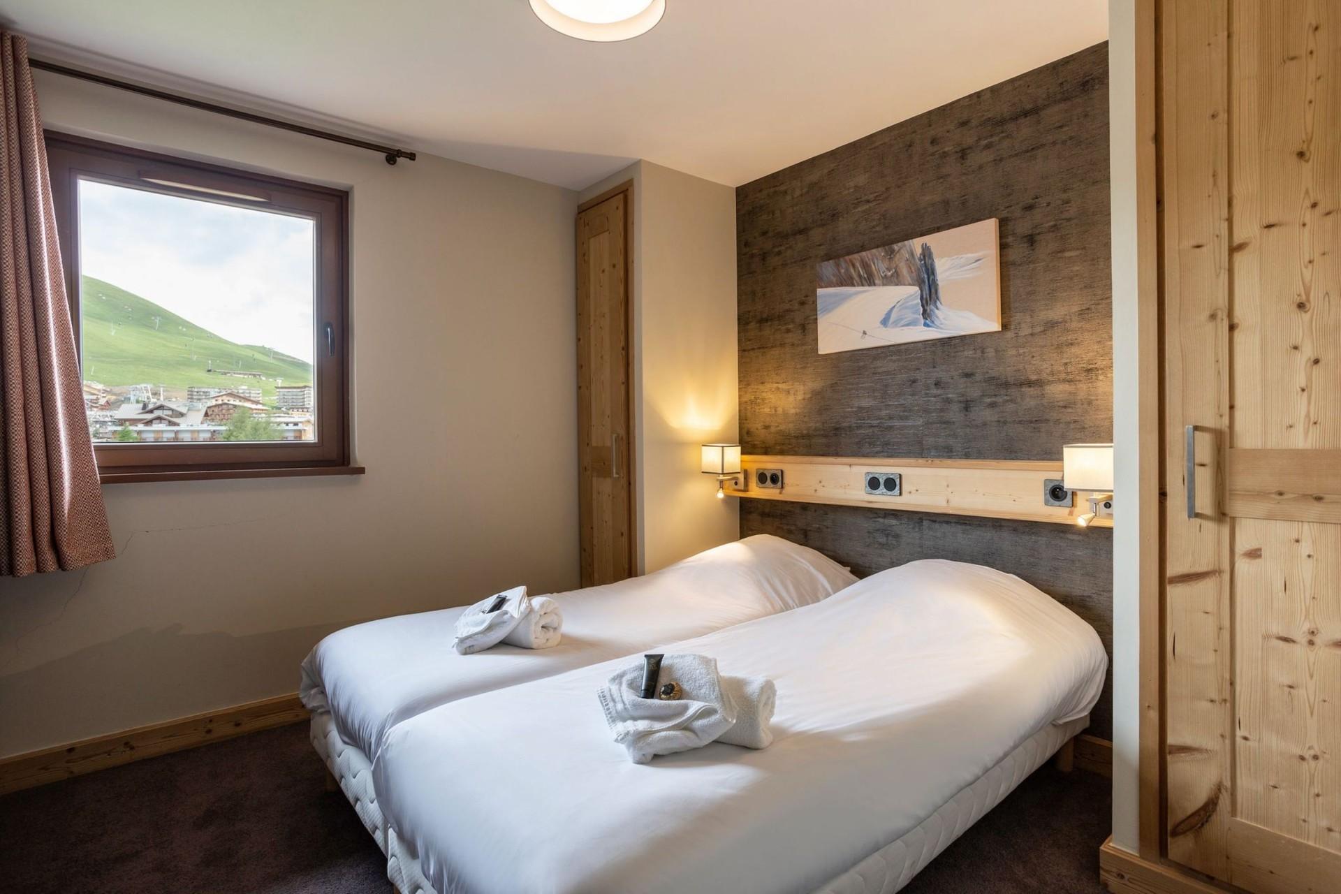 Alpe D'Huez Location Appartement Luxe Amarua Chambre 2