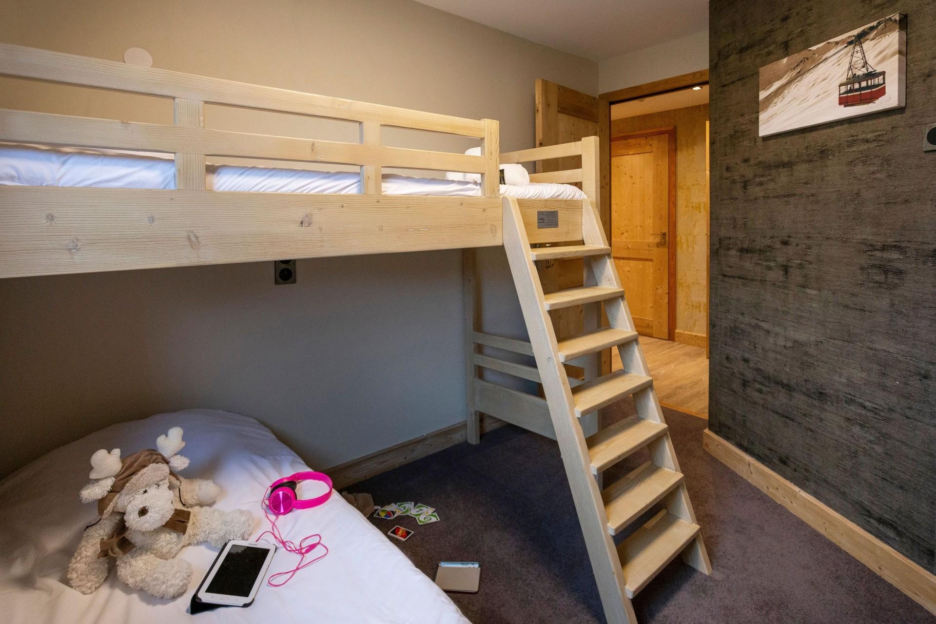 Alpe D'Huez Location Appartement Luxe Amarua Chambre Cabine 2