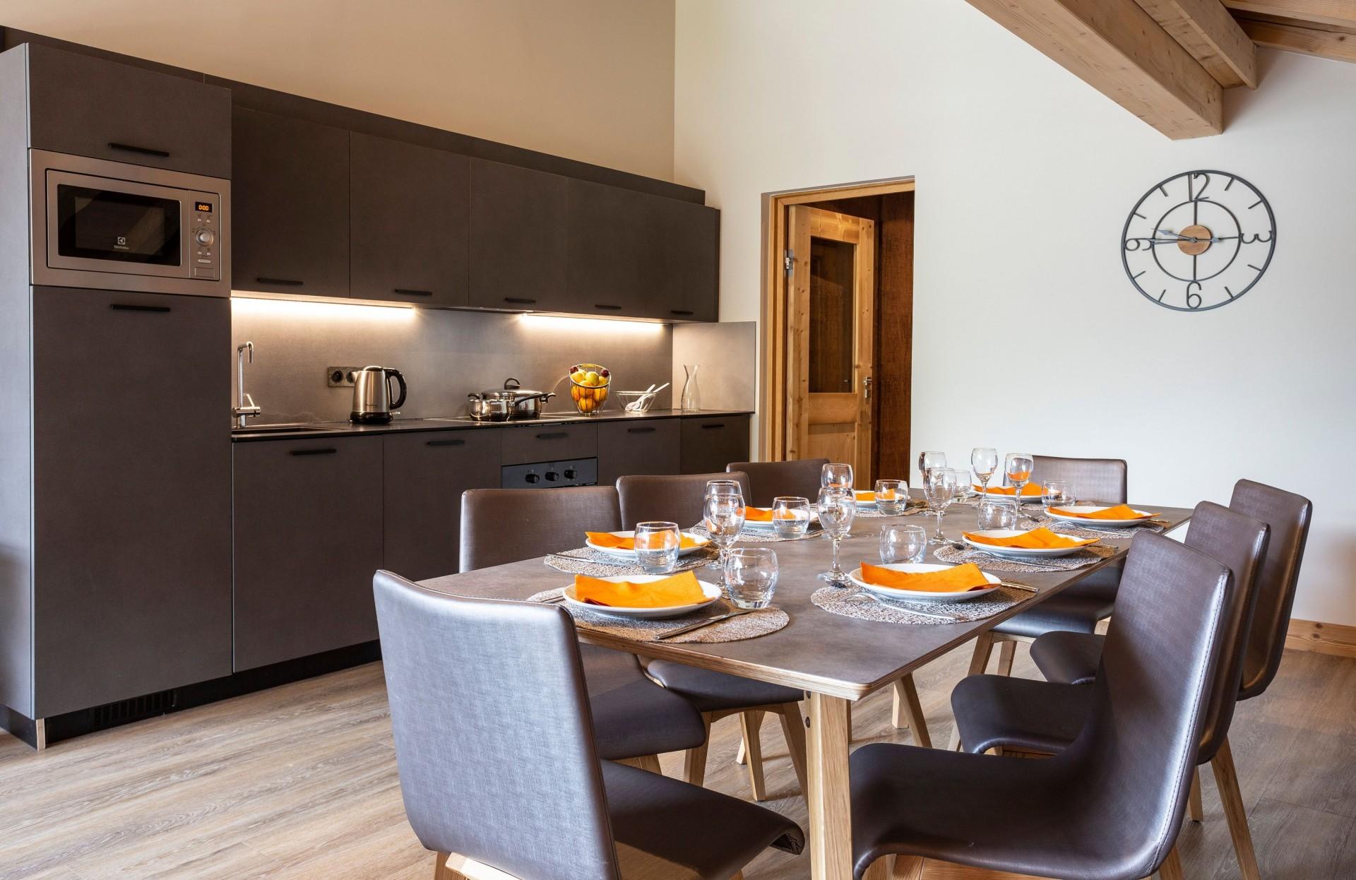 Alpe D Huez Location Appartement Luxe Amarua Salle A Manger