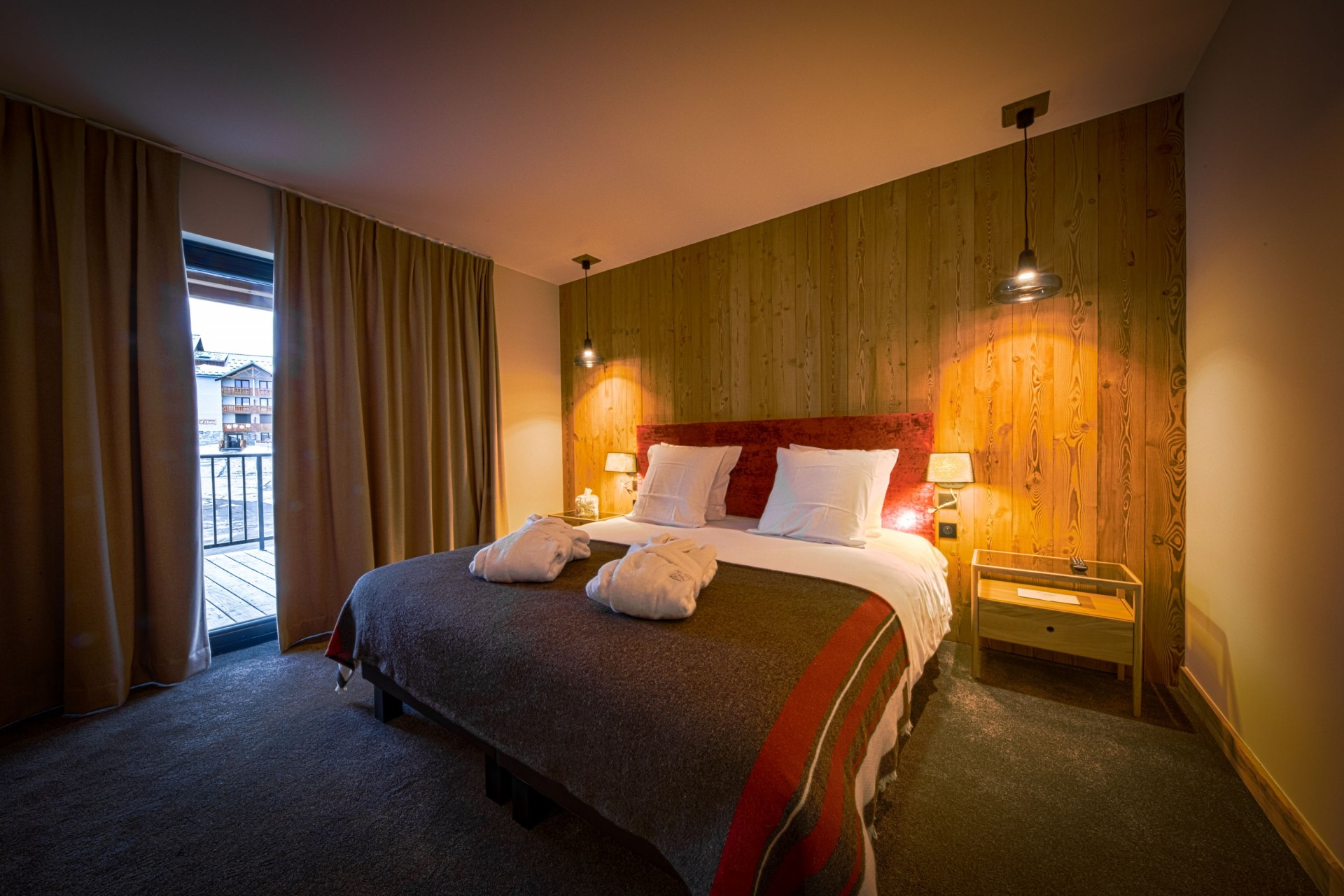 Alpe D'Huez Location Chalet Luxe Acenikite Chambre