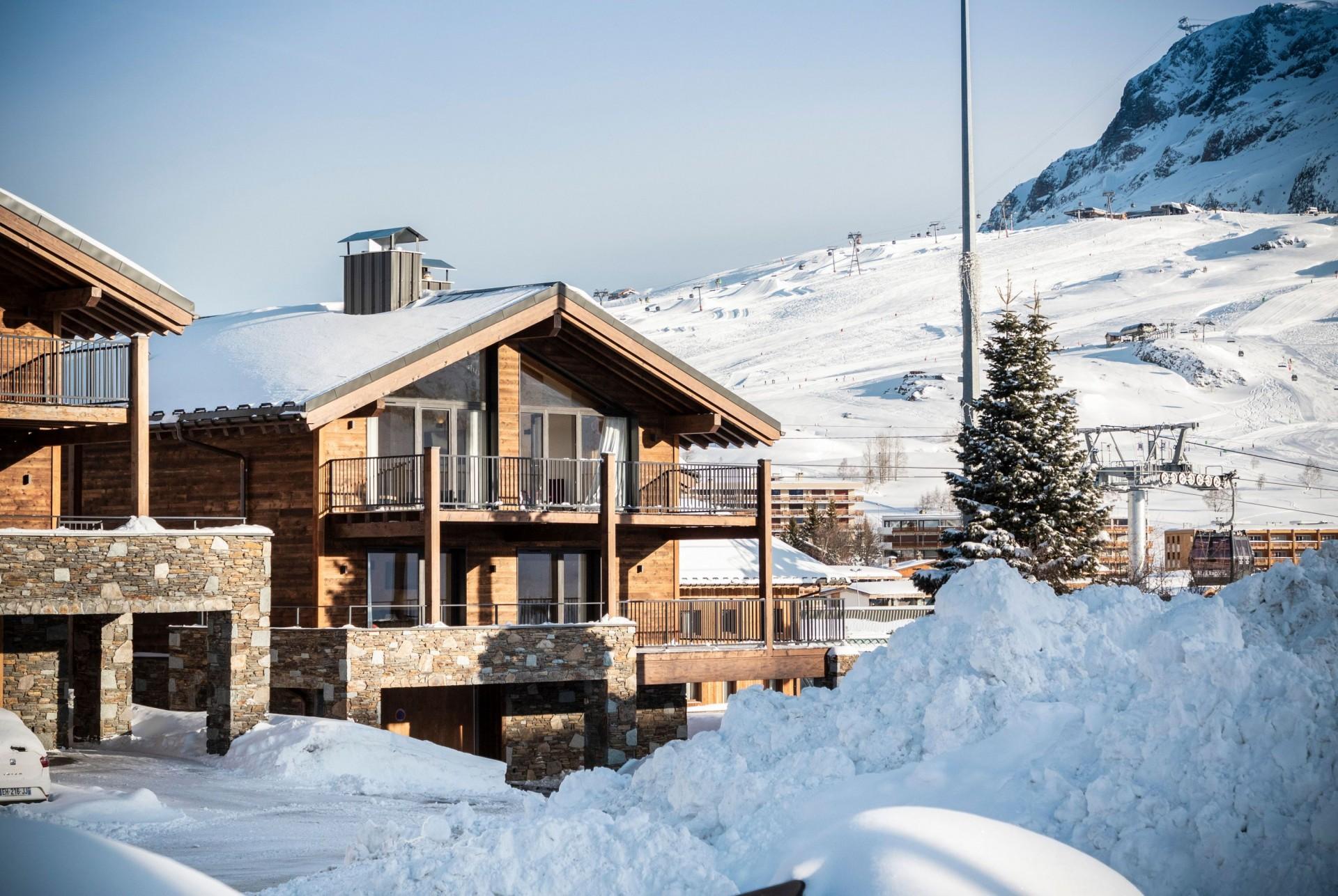 Alpe D'Huez Location Chalet Luxe Acenukite Extérieur
