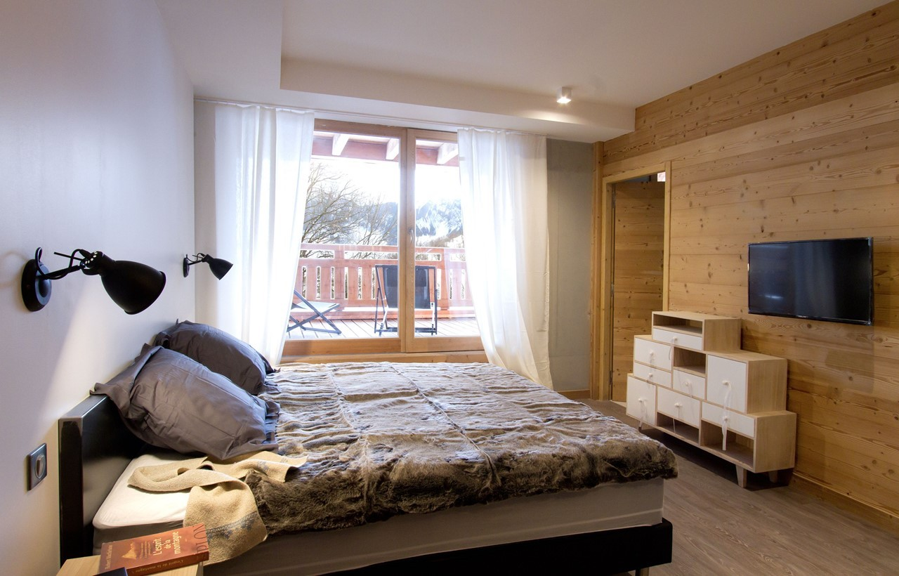 Alpe d'Huez Location Chalet Luxe Novagris Chambre